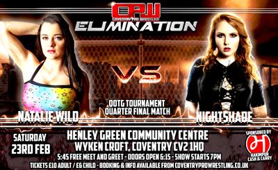 Natalie Wild vs Nightshade